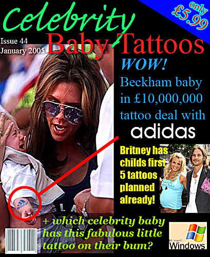 Celebrity Baby Tattoos!