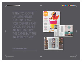 InDesign brochure design