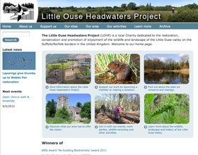 New Little Ouse Headwaters Project website