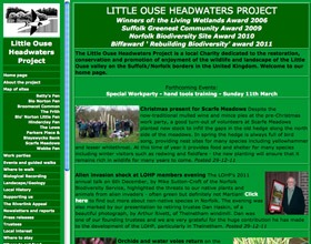 Original Little Ouse Headwaters Project website