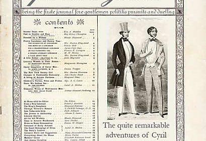 Fertive Gazer victorian newspaper