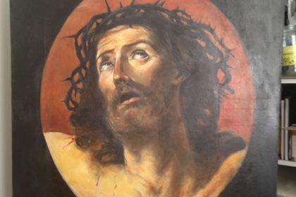 Master painting Jesus Christ